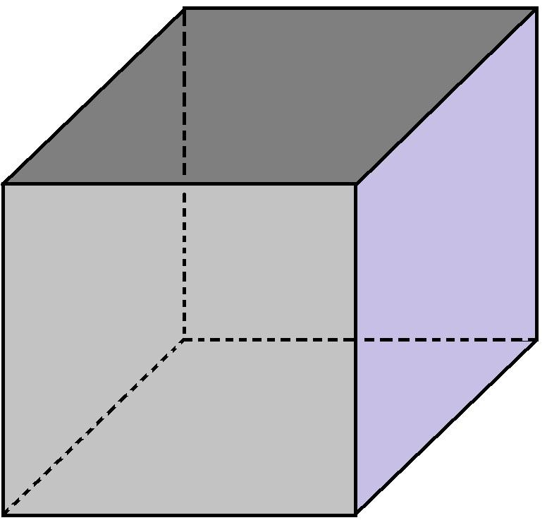 تعداد وجه های جانبی - تعداد راس و یال مکعب - درس در خانه