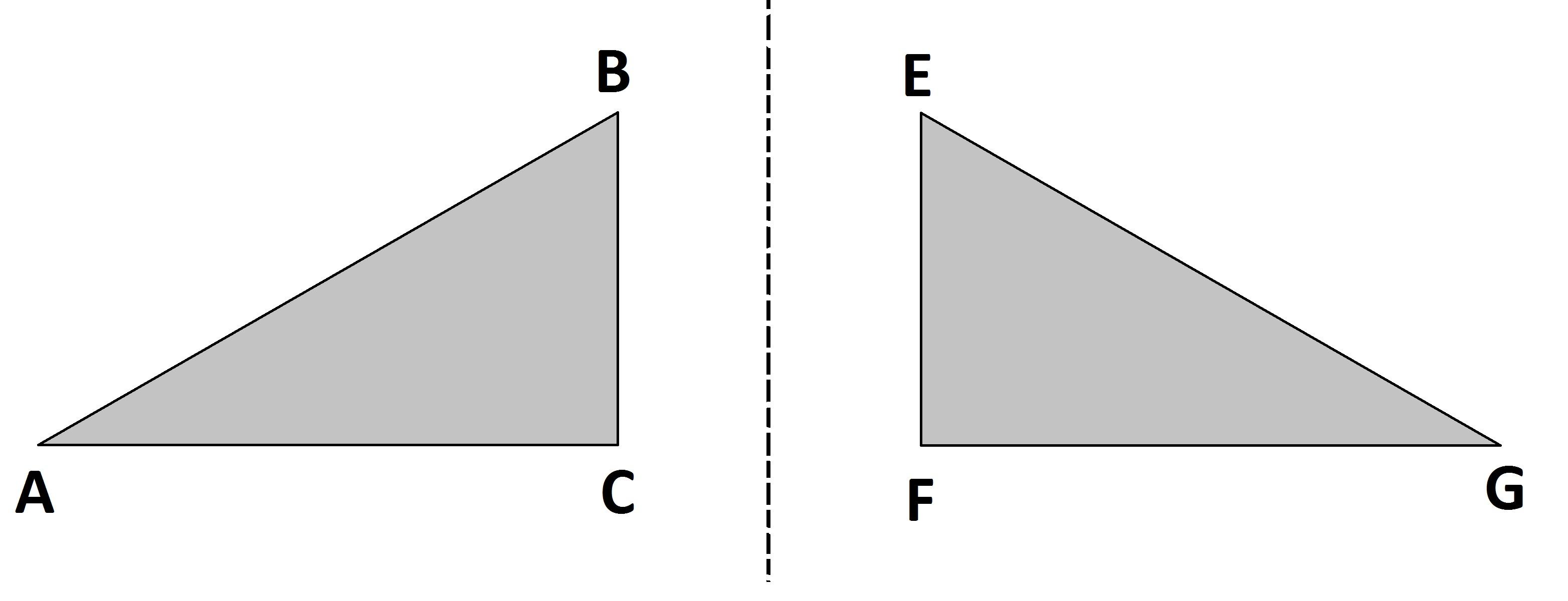 حالت های هم نهشتی مثلث ها - درس در خانه